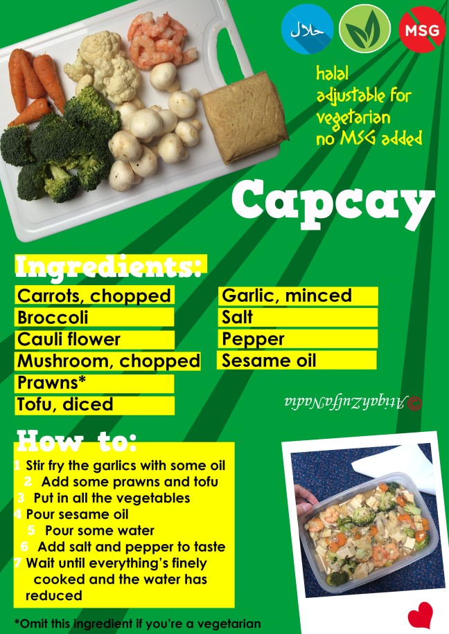 capcay recipe